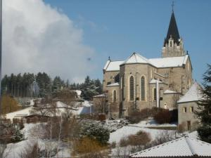 The Church in the snow