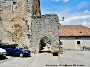 Porte Hugon (West), from the outside (© Jean Espirat)