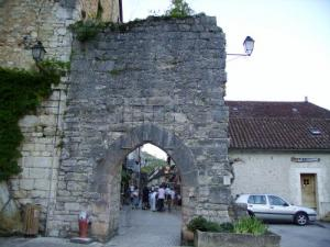 Rocamadour Door entry