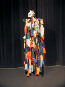 Mr. Carnival, giant puppet