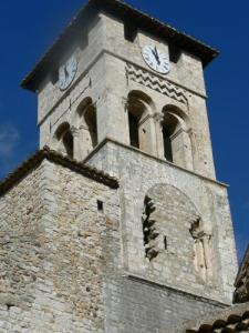 Church tower (OT Ruoms ©)