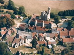 Medieval village of Sagonne