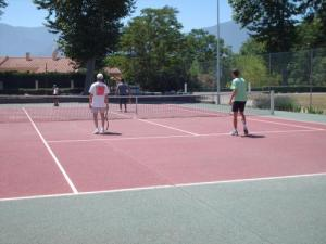 tennis facing the Alberes