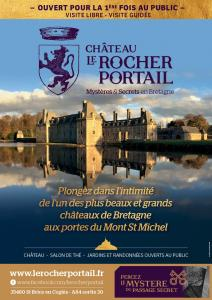 Visit of the castle of Rocher Portal