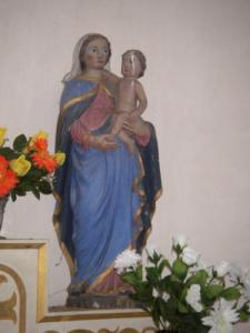 Virgin and Child stripped