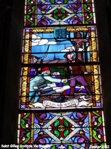 Window of the Church of the Cross -de-Vie, 1793 Revolutionary War