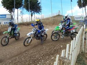 Championship of France and world Motocross