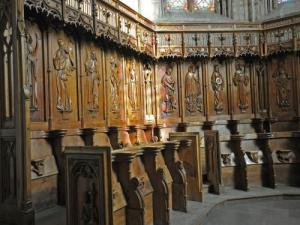 The stalls of the Cathedral