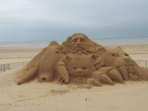 sand sculpture in 2016