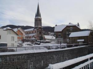 Saint-Maurice-sur-Moselle Center in Winter