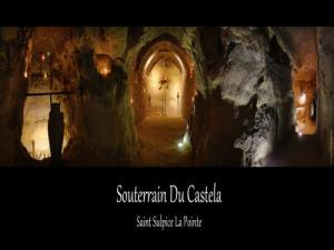 the medieval basement of Castela