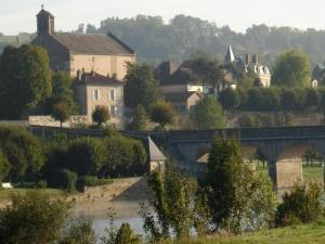View of the bridge and the church
