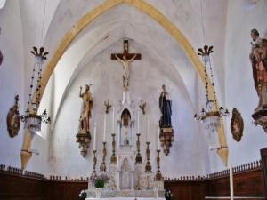 Inside the Church of St. Benedict