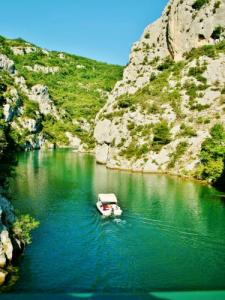 Entrance To The Lower Gorges Of The Verdon