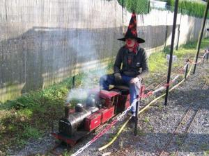 Halloween at Mini Train du Lyonnais Mountains