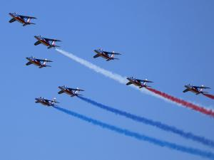 Salon-de-Provence, city of the Patrouille de France