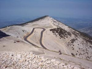 West Summit Ventoux, ha visto il culmine