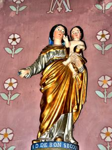 Our Lady of Good Hilfe in der Kirche (© J. E)