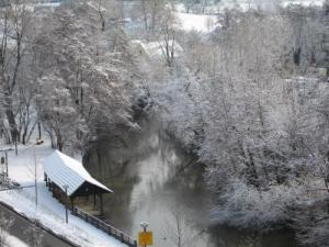 Washhouse Schiltigheim under snow