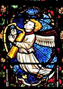 Anjo com lyre - St. George Church (© Jean Espirat)