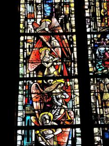 a window of St. George church (© Jean Espirat)