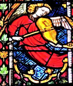 janela de vitral que descreve St. Luke - St. George Church (© Jean Espirat)