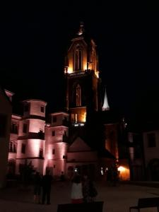 Ebersmunster torre do hotel e St. George (© Swallows turismo rural Fouchy)