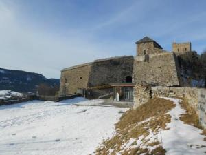 Seyne Citadel in de winter