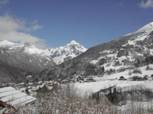 Sixt Valley and ski slopes of Salvagny