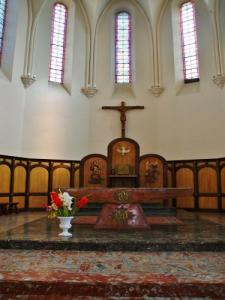 Interior of the Church of Our Lady of Peace