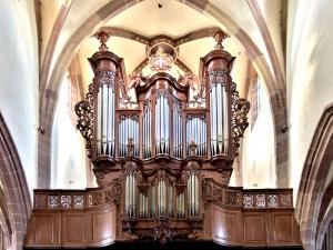 Orgue Silbermann, de l'église Saint-Maurice (© J.E)