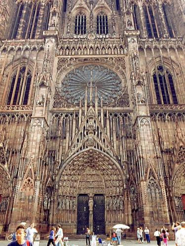 Strasbourg - cathedral facade