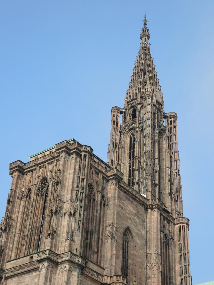 Strasbourg - South Tower and spire of the cathedral (© Jean Espirat)
