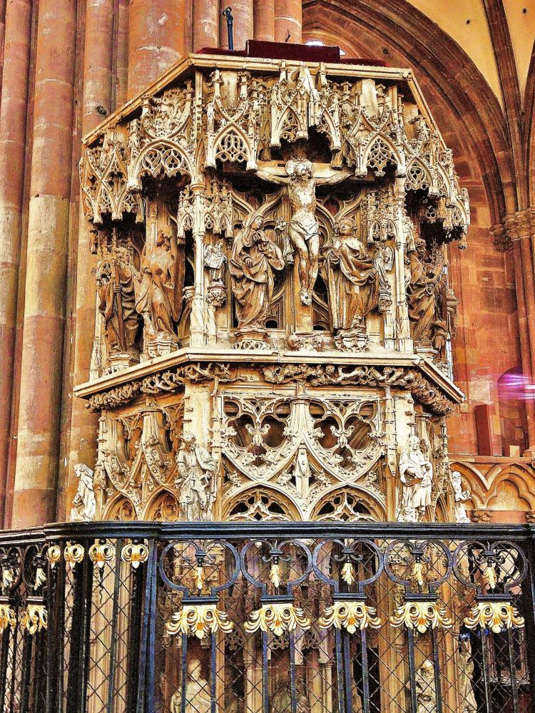 Strasbourg - Chair of the Cathedral (© Jean Espirat)