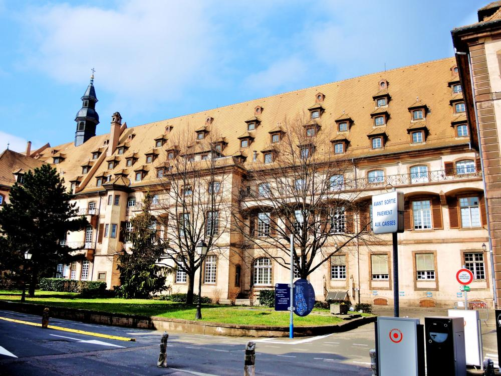 Strasbourg - One of the buildings of civil hospices (© Jean Espirat)