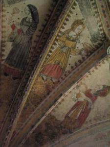 Frescoes of the Church