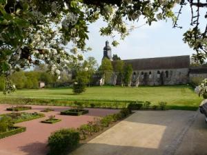 Theme gardens of the Abbey of Thiron-Gardais