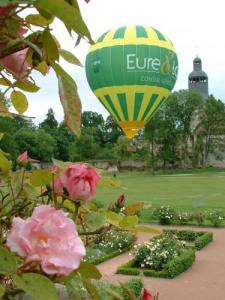 Ballooning in Abbey tuinen