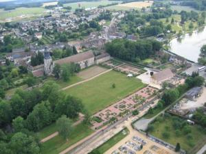 Thiron-Gardais Aerial view