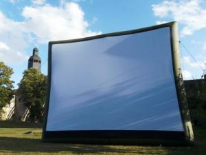 outdoor movie Seance in the Abbey gardens