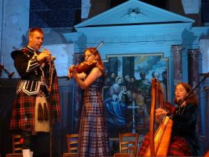 Scottish music concert in the church