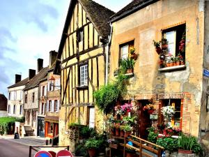 Half-timbered houses (© J.E)