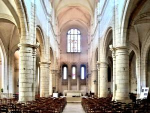 Nave of the Saint-Pierre church (© J.E)