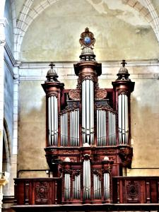 Organ of the church (© J.E)