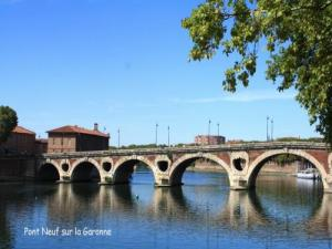 New Bridge over the Garonne
