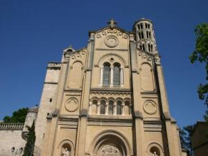Uzès, the cathedral