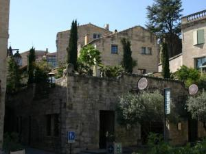 Uzès, the hotel of Entraigues