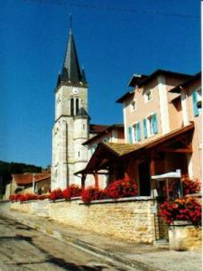 The church and museum at Revermont Cuisiat