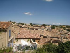 Valensole village Roofs