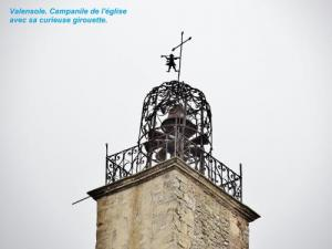 Campanile with its curious weather vane (© Jean Espirat)
